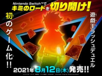 Game Switch Yu-Gi-Oh! Rush Duel Besutan Konami Akan Diluncurkan pada Bulan Agustus 2
