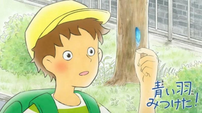Anime Aoi Hane Mitsuketa! Diperankan oleh Ayumi Tsunematsu dan Daisuke Sakaguchi 1