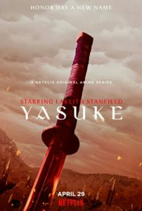 Anime Yasuke Merilis Trailer dan Visual Baru 2