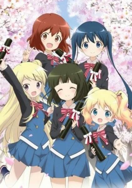 Video Teaser Film Anime Kin-iro Mosaic Memperdengarkan Lagu Tema dari Rhodanthe* 1
