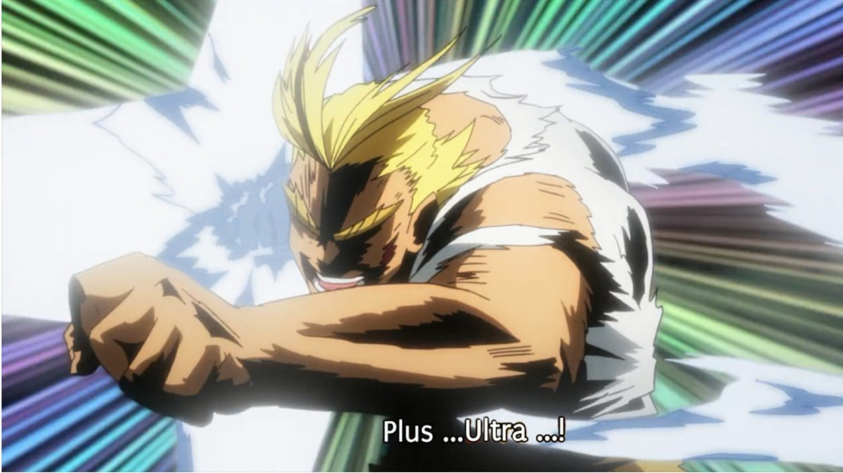 "Mengulik Arti dan Sejarah Slogan ""Plus Ultra"" Dari Anime My Hero Academia 4"