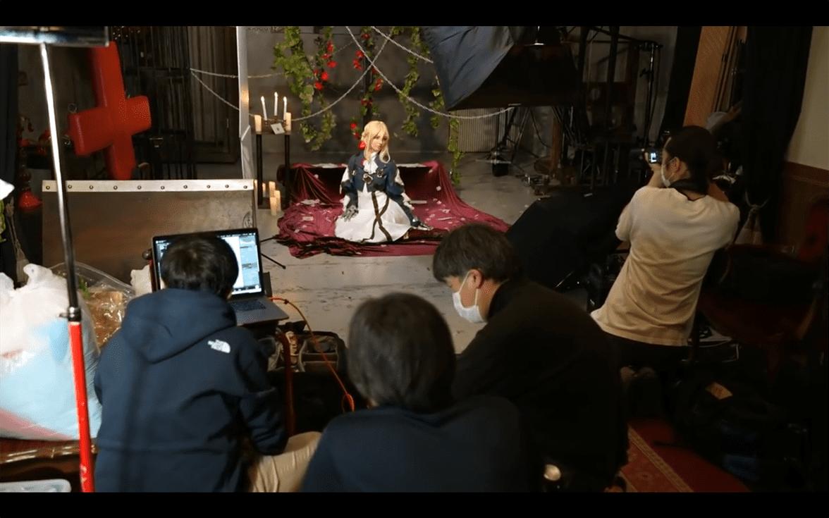 Intip Proses Behind-The-Scene Film Live-Action Violet Evergarden yang Akan Membuatmu Basah Tak Terkira dari Studio TMA 7