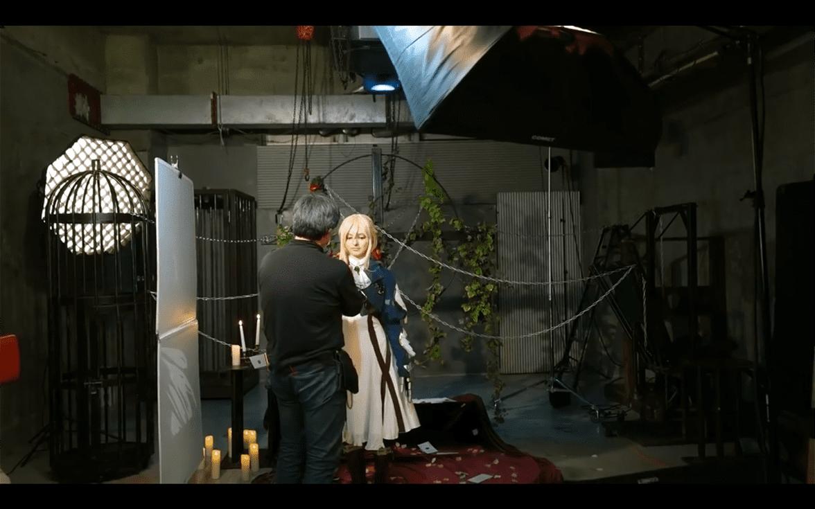 Intip Proses Behind-The-Scene Film Live-Action Violet Evergarden yang Akan Membuatmu Basah Tak Terkira dari Studio TMA 5