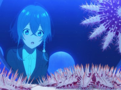 review anime shiroi suna no aquatope episode 13