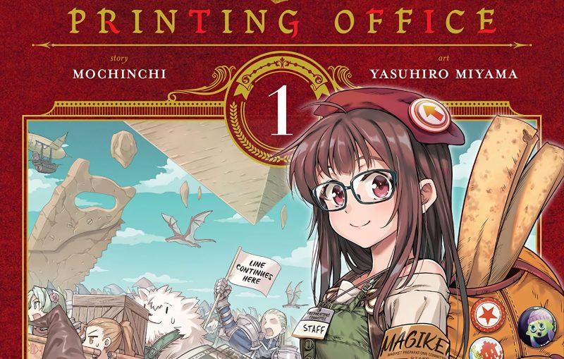 Manga Mahoutsukai no Insatsujo akan Berakhir pada Bulan April 1