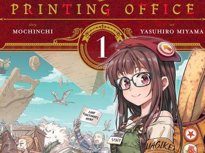 Manga Mahoutsukai no Insatsujo akan Berakhir pada Bulan April 15