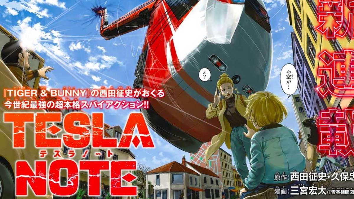 Anime Tesla Note akan Mulai Tayang pada Bulan Oktober 2