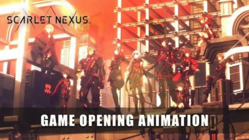 Sunrise Menganimasikan Video Pembuka Game Scarlet Nexus 1