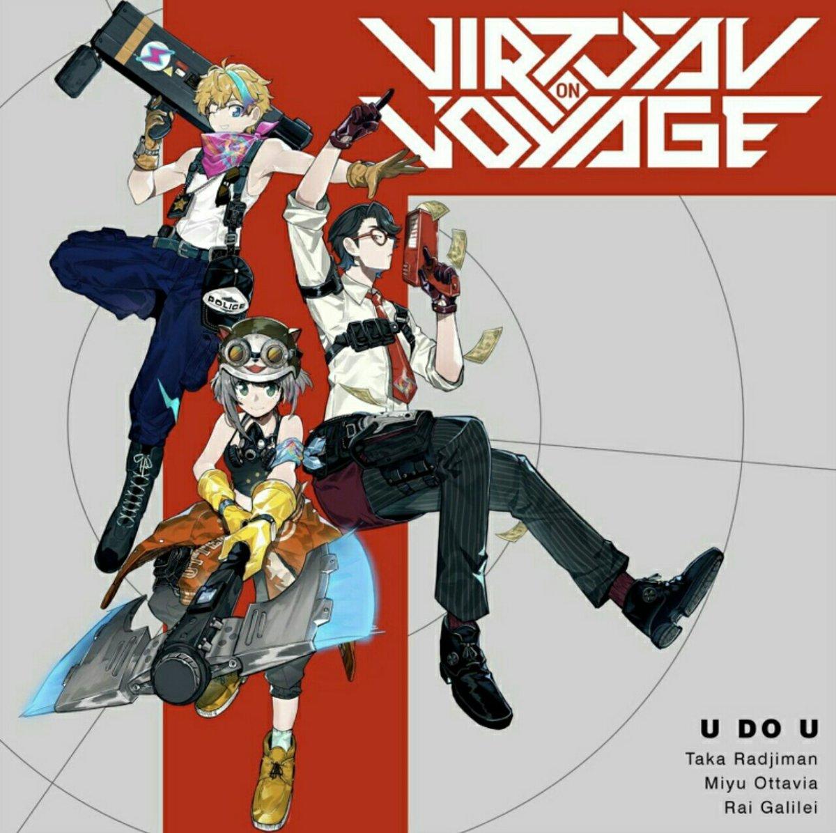 """NIJISANJI ID Merilis Tiga Lagu Baru dalam Proyek """"Virtual on Voyage"""" 4"""