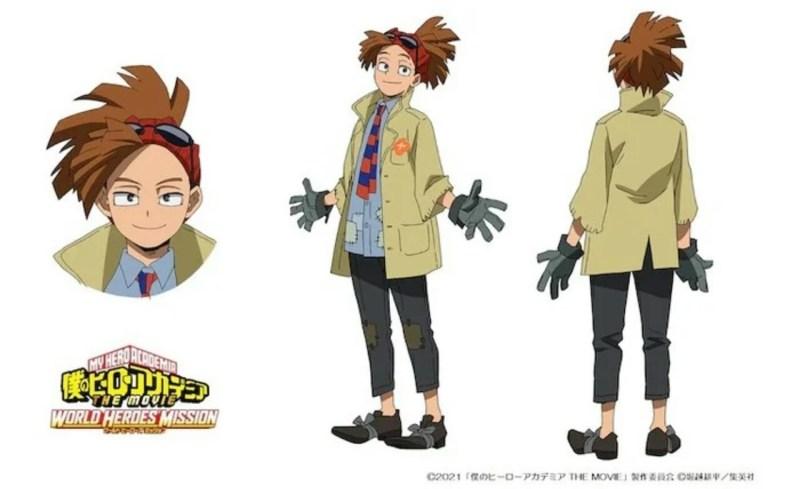 Anime My Hero Academia The Movie: World Heroes' Mission Diperankan oleh Ryō Yoshizawa sebagai Karakter Orisinal 1