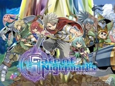 Square Enix dan Hiro Mashima Mengungkapkan RPG Smartphone Gate of Nightmares 1