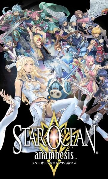 Game Smartphone Star Ocean anamnesis
