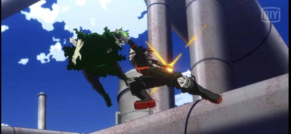 5 Super dan Ultimate Move Bakugo Katsuki di Anime My Hero Academia 17