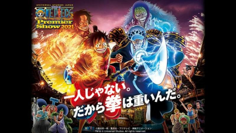 One Piece Premier Show Kembali ke Universal Studios Japan pada bulan Agustus 1