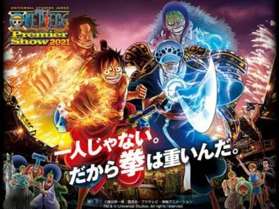 One Piece Premier Show Kembali ke Universal Studios Japan pada bulan Agustus 4