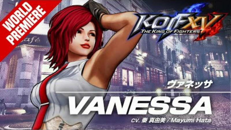 Game King of Fighters XV Merilis Trailer untuk Vanessa 1