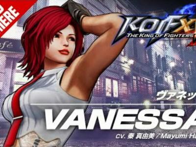 Game King of Fighters XV Merilis Trailer untuk Vanessa 48