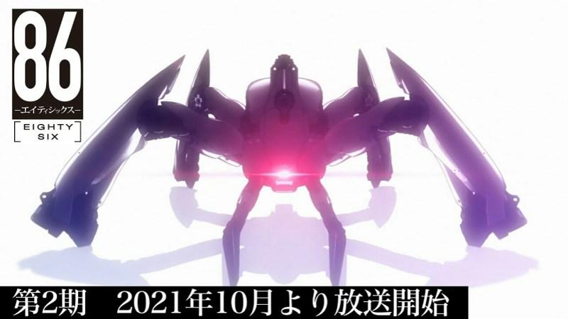 Anime '86' Season 2 Akan Mulai Tayang Bulan Oktober 1