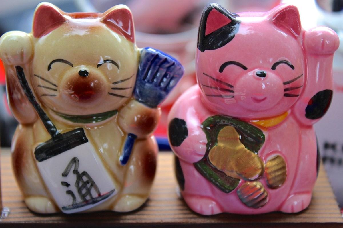 Maneki Neko, Kucing Pembawa Keberuntungan 4