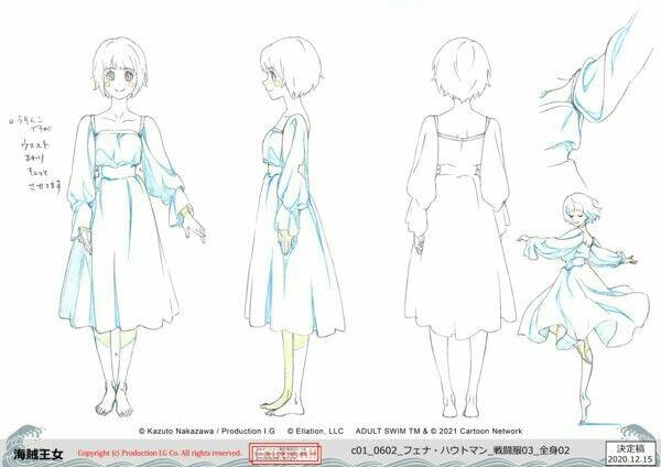 Crunchyroll dan Adult Swim Mengungkapkan Banyak Informasi tentang Fena: Pirate Princess (Kaizoku Ōjo) 17