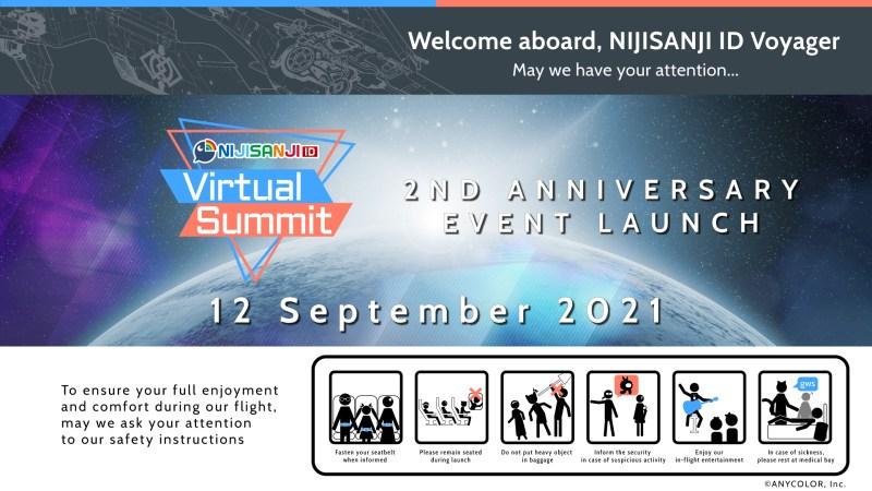 NIJISANJI ID 2nd Anniversary Event: Virtual Summit! 1