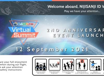 NIJISANJI ID 2nd Anniversary Event: Virtual Summit! 10