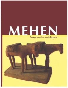 Voorkant van het derde boek Essays over het oude Egypte van Mehen.