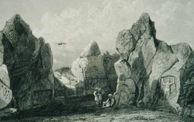 Hattusa early drawing