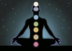 De zeven chakra's en de aura