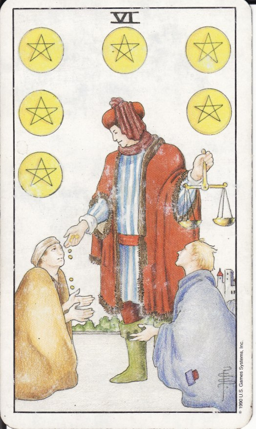 6 of Pentacles