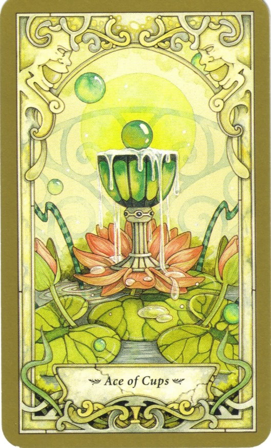 Ace of Cups Faerie