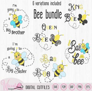 Bee bundle, Bumblebee cut file