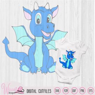 Dragon Baby boy for boy shirt or Boy nursery