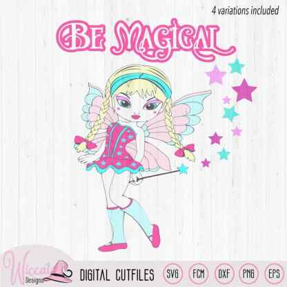 Fairy bundle svg, gothic fairy, magical