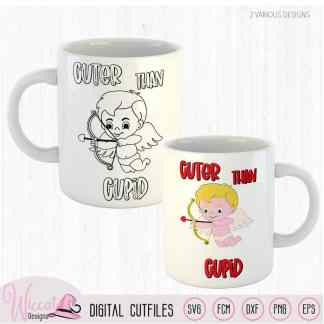 Cuter than cupid baby cartoon