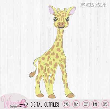 Standing Baby Giraffe, safari animal