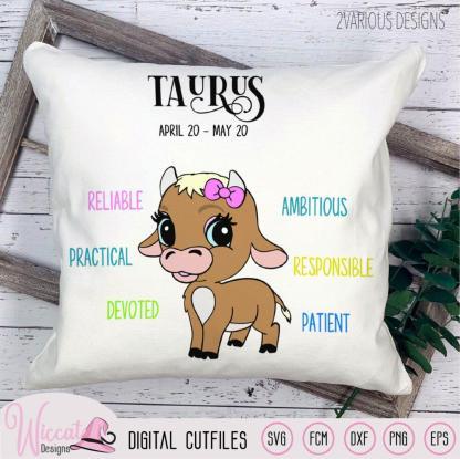 Baby girl Taurus with traits, Zodiac sign newborn