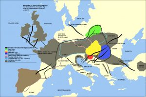 Celtic migration (source: wikipedia)