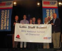 2012 NATIONAL SCHOOL OF CHARACTER AWARD RECIPIENT