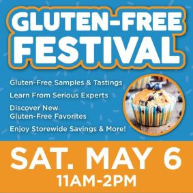 Gluten-Free Festival at GreenAcres Market 21st & Maize May 6th 2017 11 am - 2 pm