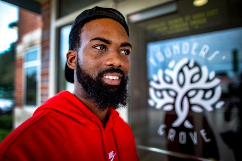 Dante Bristow is passionate about reforming the juvenile justice system and addressing the court fees that juveniles face after their confinement. (Fernando Salazar/The Beacon)
