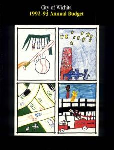 Wichita City Budget Cover, 1992