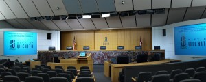 Wichita City Council chambers