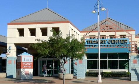 Wichita Transit Center, August 11, 2014, 6:13 pm