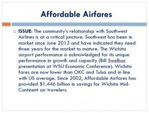 Excerpt from Wichita Legislative Agenda, November 2014