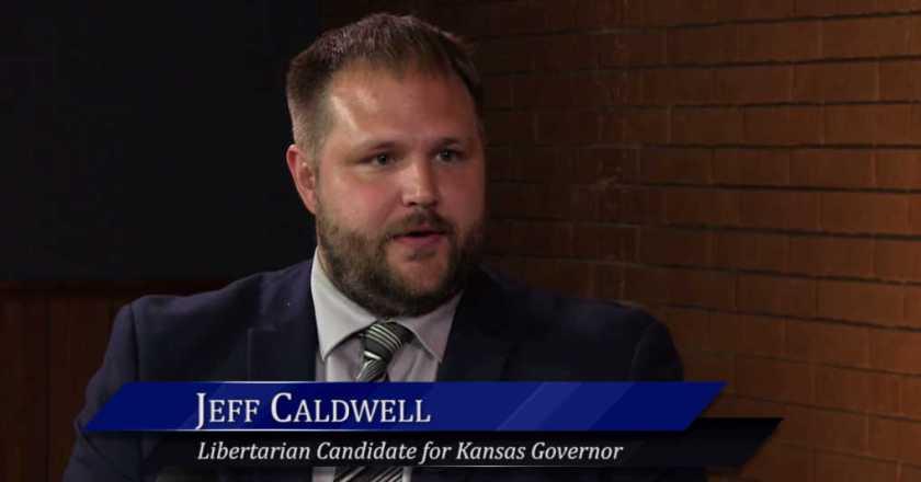 WichitaLiberty.TV: Kansas gubernatorial candidate Jeff Caldwell