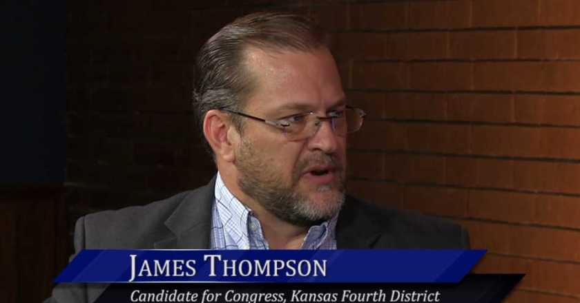 WichitaLiberty.TV: Candidate for Congress James Thompson