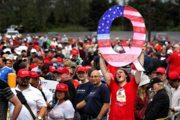 Trump-supporting QAnon seen as public security threat
