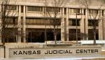 Kansas Judicial Center in snow