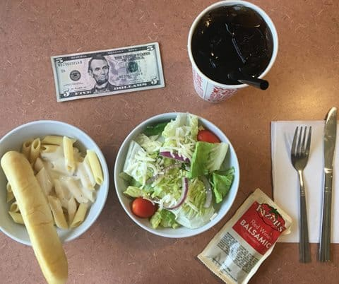 image relating to Fazoli's Printable Coupons referred to as Fazolis $5 Lunch Distinctive